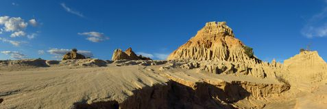 Panorama - parc national de mungo, NSW, Australie Photographie stock libre de droits