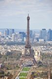 Panorama of Paris Stock Photography