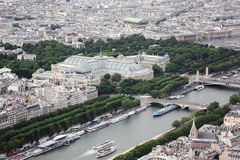 panorama Paris Fotografia Stock