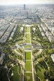 Panorama Paris Stock Photography