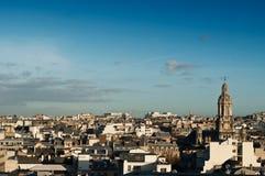panorama- paris Royaltyfri Bild