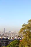 panorama paris Royaltyfria Foton