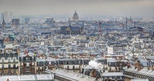 panorama paris Royaltyfria Bilder