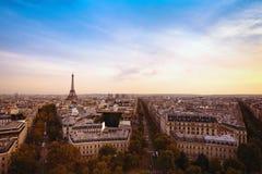 Panorama of Paris Stock Photography