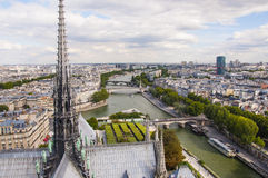 Panorama of Paris city Royalty Free Stock Photography