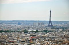 Panorama of Paris Royalty Free Stock Photo