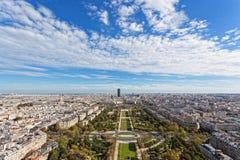 Panorama of Paris Royalty Free Stock Photos