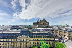 panorama- paris sikt Royaltyfri Bild