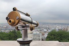Panorama of Paris Royalty Free Stock Photography