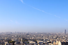 Panorama of Paris Royalty Free Stock Images