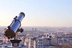Panorama of Paris Stock Image