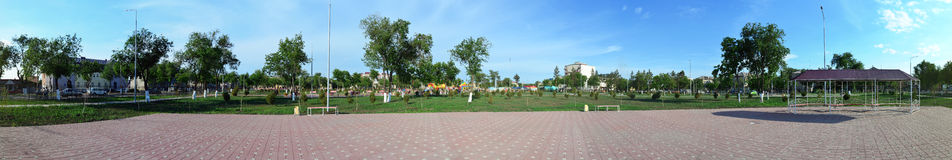 Panorama park Obraz Stock