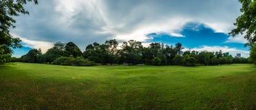Panorama park in Bangkok Stock Image
