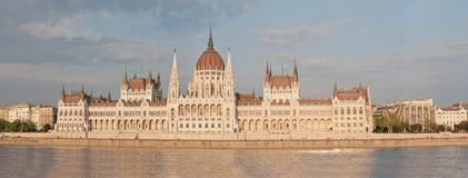 Panorama of the Parliament Royalty Free Stock Photography