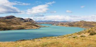 Panorama of patagonia Stock Photo