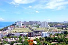 Panorama Pattaya. Thailand Stock Images