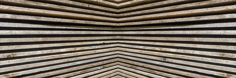 Panorama pattern of wooden boards Royalty Free Stock Photo