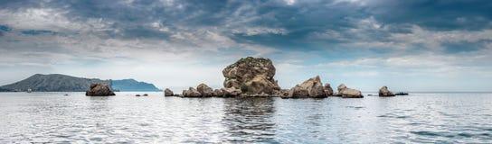 Panorama Paysage marin Photos libres de droits