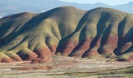 Panorama peint de collines en Orégon oriental images libres de droits