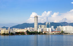 Panorama of Penang Stock Image