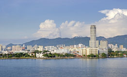 Panorama of Penang Royalty Free Stock Photography