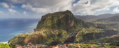 Panorama of Penha de Aguia Royalty Free Stock Photo