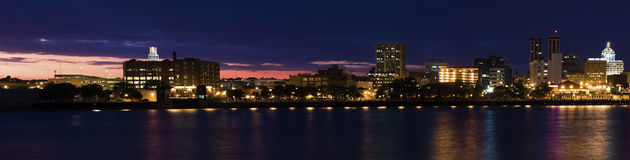 Panorama of Peoria at sunset. Stock Images