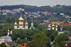 Panorama of Pereslavl-Zalessky Stock Image