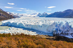 Panorama, Perito Moreno Glacier, Argentina Stock Photos