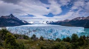 Panorama of Perito Moreno Glacier in Patagonia - El Calafate, Argentina Stock Photos