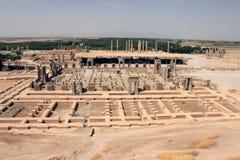 The panorama of Persepolis (Iran) royalty free stock image