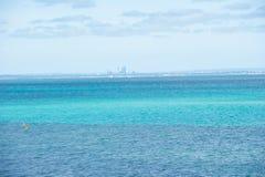 Panorama Perth Australia ocean coast Royalty Free Stock Images