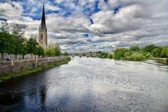 Panorama of Perth city Royalty Free Stock Image