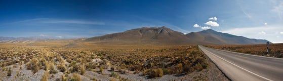 Panorama Peru Lizenzfreies Stockbild