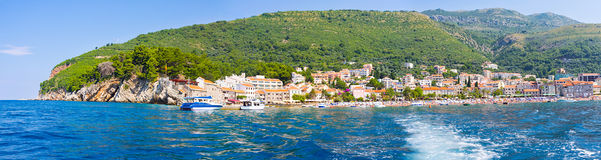 Panorama of Petrovac Stock Photos