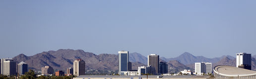 Panorama of Phoenix, AZ Stock Photos