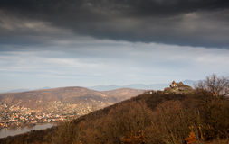 Panorama photo from Visegrad Royalty Free Stock Photos