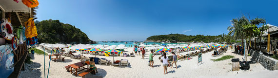 Panorama at phuket Royalty Free Stock Images