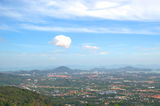 Panorama of Phuket island Royalty Free Stock Photo