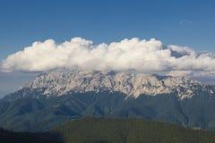 Panorama Piatra Craiului Stock Image