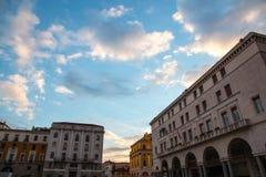 The panorama of Piazza della Vittoria Stock Images