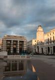 The panorama of Piazza della Vittoria Stock Photo