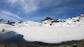 Panorama of Pic du Midi  Ossau in the french Pyrenees