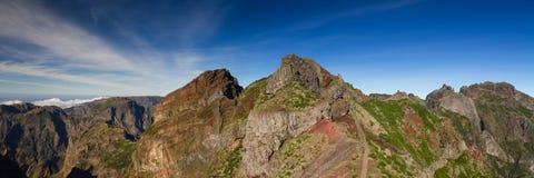 Panorama Pico do Arieiro Στοκ Εικόνα