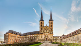 Panorama Picture of the Michaelsberg in Bamberg / Bavaria Royalty Free Stock Photography