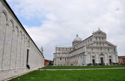 Panorama of the Pisa Stock Photos