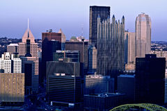Panorama of Pittsburgh, Pennsylvania Royalty Free Stock Photos