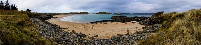 Panorama plaże w Ards lasu parku w Donegal Irlandia Obrazy Royalty Free