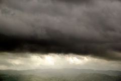 Panorama of the plain of Assisi, Italy Royalty Free Stock Photo