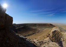 Panorama of the plateau Shalkar Nura Stock Image